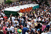 Belo Horizonte_MG, Brasil.<br /> <br /> Carnaval 2012. Na foto, Bloco Sou Bento Mas Nao Sou Santo no Bairro Sao Bento, Belo Horizonte, Minas Gerais.<br /> <br /> Carnival 2012. In this photo Sou Bento Mas Nao Sou Santo carnival band in Sao Bento neigborhood, Belo Horizonte, Minas Gerais.<br /> <br /> Foto: NIDIN SANCHES / NITRO