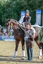 , Warendorf - Bundeschampionate  01. - 05.09.2010, Silbermond 23 - Hartmann-Stommel, Wibke