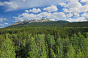 Cassiar Mountains on the Stewart-Cassiar Highway<br /> n<br /> near Good Hope Lake<br /> British Columbia<br /> Canada