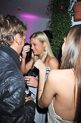 CHELSEY DAVY at the St.Martins Lane Hotel 10th year bash held on 9th September 2009.