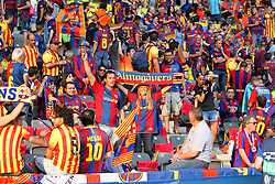 06-06-2015 GER: UEFA Champions League final Juventus - Barcelona, Berlin<br /> Fans (FC Barcelona) before the UEFA Champions League final match between Juventus FC and Barcelona FC at the Olympia Stadion in Berlin<br /> <br /> ***NETHERLANDS ONLY***