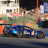 #90, TF Sport, Aston Martin Vantage, LMGTE Am, driven by: Salih Yoluc, Euan Hankey, Charles Eastwood, FIA WEC 6hrs of Spa 2018, 05/05/2018,