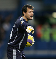 Photo: Lee Earle.<br /> Chelsea v Watford. The Barclays Premiership. 11/11/2006. Carlo Cudicini was back in goal for Chelsea.