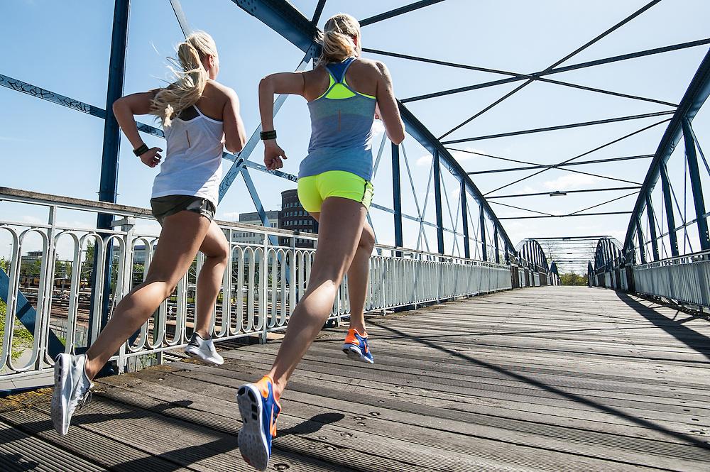 Nike Free running campaign photo shoot