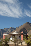 Mamalluca Observatory in mountain area, Vicuna, Chile