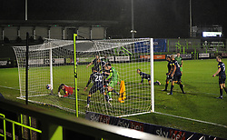 Odin Bailey of Forest Green Rovers scores a goal making it 1-2- Mandatory by-line: Nizaam Jones/JMP - 14/11/2020 - FOOTBALL - innocent New Lawn Stadium - Nailsworth, England - Forest Green Rovers v Mansfield Town - Sky Bet League Two