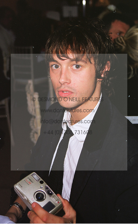 VISCOUNT MACMILLAN close friend of Jade Jagger, at a party in London on 5th June 1999.MSX 98