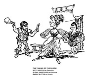The Taming of the Shrew. Nicky Henson as Petruchio, Susan Hampshire as Katherine, Barrie Rutter as Grumio