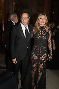 JAMIE HINCE; KATE MOSS, Alexander McQueen: Savage Beauty Gala, Victoria and Albert Museum, and A. 12th March 2015