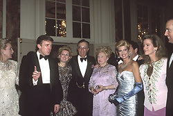 November 12, 2016 - New York, New York, U.S. - DONALD TRUMP over the years..Donald Trump with his sisters Maryanne Trump Barry, Elizabeth Trump, Lew Rudin,Mary Anne Trump, Ivana Trump, Blaine Trump, Robert Trump..Photos by  ,   Photos Inc 2016 (Credit Image: © Sonia Moskowitz/ZUMA Wire)