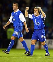 Fotball<br /> Foto: BPI/Digitalsport<br /> NORWAY ONLY<br /> <br /> Gillingham v Leeds United<br /> Coca Cola Championship. 10/08/2004.<br /> Gillingham player manager Andy Hessenthaler, who has stepped down.