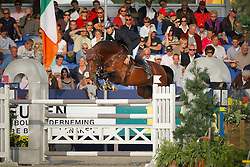 Vanderhasselt Yves (BEL) - Muscaris D'Ariel<br /> World Championship Young Horses Lanaken 2008<br /> Photo Copyright Hippo Foto