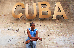 Atmosphere on the streets of the capital city Havana, Cuba on August 13, 2006. Six days before an ailing Fidel Castro handed his brother Raul provisional control over the government which he has led uninterrupted for 47 years. Cuban citizens are waiting to find out if the 'Lider Maximo' will resume leadership after his recovery from an intestinal surgery. Photo by ABACAPRESS.COM | 103540_03