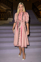 Yasmin Le Bon on the front row during the Temperley Autumn/Winter 2017 London Fashion Week show at Banking Hall, London. PRESS ASSOCIATION Photo. Picture date: Sunday February 19th, 2017. Photo credit should read: Matt Crossick/PA Wire.