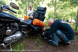 Love Thy Chopper. Wilderness on Wheels campground. Grant, CO. July 13, 2014.  Photography ©2014 Michael Lichter.