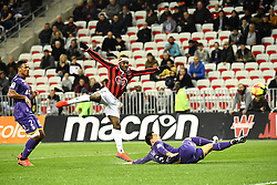 March 15, 2019 - Nice, France - 07 ALLAN SAINT MAXIMIN (NICE) - 03 GEN SHOJI (TOU) - 02 KELVIN AMIAN  (Credit Image: © Panoramic via ZUMA Press)