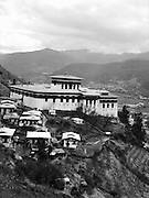 View over Rinpung Dzong.