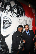 l to r: Sway and Bazaar Royale at The First Annual 2009 Gold Rush Awards held at the Red Bull Space on February 11, 2009 in New York City..Rush Arts Gallery (Chelsea, NY) and Corridor Gallery (Clinton Hill, Brooklyn) founded 1996 are core programs within the Rush Philanthropic Arts Foundation (non-profit) dedicated to providing urban youth with significant exposure and access to the arts, as well as providing exhibition opportunities to artists.  The exhibitions and education programs of the galleries are also sponsored in part by a grant from the New York State Council for the Arts and are free and open to the public..