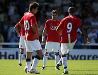 Photo: Paul Thomas.<br /> Peterborough United v Manchester United. Pre Season Friendly. 04/08/2007.<br /> <br /> New Utd signing Owen Hargreaves.