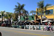Killarney Pub & Grill and Baja Sharkeez Restaurants on Main Street in Huntington Beach California
