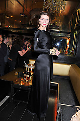 MISCHA BARTON at the Johnnie Walker Gold Label Reserve Launch Party at Whisky Mist, 35 Hertford Street, London on 18th July 2012.