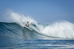 October 12, 2017 - Jordy Smith (ZAF) Placed 1st in Heat 6 of Round One at Quiksilver Pro France 2017, Hossegor, France..Quiksilver Pro France 2017, Landes, France - 12 Oct 2017 (Credit Image: © WSL via ZUMA Press)