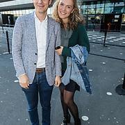 NLD/Amsterdam/20161004 - Wereldpremiere van Inspiration360 2016, Ben van den Burg en dochter