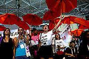 Een toespraak van de voormalige Amerikaanse president Bill Clinton tijdens de aidsconferentie AIDS2018 in Amsterdam werd vrijdag verstoord door een groep demonstranten. Zij schreeuwden dat de volgende aidsconferentie in 2020 niet in de Verenigde Staten gehouden mag worden.pers, beleidsmakers en politici bijeen voor de internationale aidsconferentie AIDS 2018<br /> <br /> A speech by former US President Bill Clinton during the AIDS2018 AIDS conference in Amsterdam was disrupted Friday by a group of demonstrators. They shouted that the next AIDS conference in 2020 should not be held in the United States.pers, policymakers and politicians gathered for the AIDS AIDS Conference 2018<br /> <br /> Former president of the United States, Bill Clinton speaks in the Rai during AIDS2018. From 23 to 27 July, thousands of AIDS experts, activists, scientists, policymakers and politicians will meet for the AIDS AIDS Conference in the international arena.