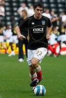 Photo: Steve Bond. <br />Derby County v Portsmouth. Barclays Premiership. 11/08/2007. Richard Hughes