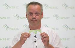 Sandi Kranjec of NZS at 2nd League draw before new football season 2011/2012 in Slovenia, on June 23, 2011, in Hotel Kokra, Brdo pri Kranju, Slovenia. (Photo by Vid Ponikvar / Sportida)