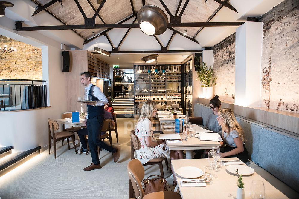 A general view of Meraki as part of Evening Standard restaurant review.<br /> Picture by Daniel Hambury/Stella Pictures Ltd 07813022858<br /> 10/07/2017