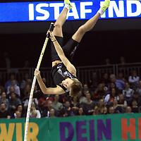 14.02.2020, Mercedes Benz Arena, Berlin, GER, ISTAF-Indoor 2020 Berlin, im Bild <br /> Stabhochsprung<br /> Pal Haugen Lillefosse (NOR)<br /> <br />      <br /> Foto © nordphoto / Engler
