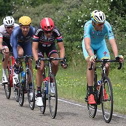 25-06-2016: Wielrennen: NK weg Profs: Ouddorp <br />OUDDORP (NED) wielrennen <br />Op het Zuid Hollandse eiland Goeree Overflakkee streden de profs om de Nederlandse titel. Lars Boom, Roy Curvers