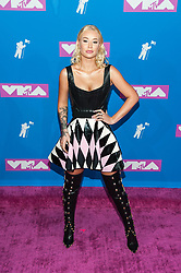 August 21, 2018 - New York City, New York, USA - 8/20/18.Iggy Azalea at the 2018 MTV Video Music Awards at Radio City Music Hall in New York City. (Credit Image: © Starmax/Newscom via ZUMA Press)