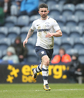 Preston North End's Sean Maguire<br /> <br /> Photographer Mick Walker/CameraSport<br /> <br /> The EFL Sky Bet Championship - Preston North End v Fulham - Saturday 10th March 2018 - Deepdale Stadium - Preston<br /> <br /> World Copyright © 2018 CameraSport. All rights reserved. 43 Linden Ave. Countesthorpe. Leicester. England. LE8 5PG - Tel: +44 (0) 116 277 4147 - admin@camerasport.com - www.camerasport.com