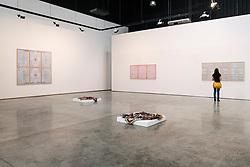 Gallery Isabelle Van Eynde gallery in warehouse in Alserkal Avenue arts district in Al Quoz in Dubai United Arab Emirates