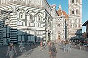 FLORENCE: in Piazza del Duomo, Cattedrale di Santa Maria del Fiore