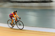Geraint Thomas track day at the Wales national velodrome in Newport on Monday 24th October 2011.