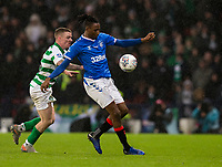Football - 2019 Betfred Scottish League Cup Final - Celtic vs. Rangers<br /> <br /> Joe Aribo of Rangers vies with Jonny Hayes of Celtic, Hampden Park Glasgow.<br /> <br /> COLORSPORT/BRUCE WHITE
