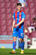 Daniel Mackay (#27) of Inverness Caledonian Thistle FC during the SPFL Championship match between Heart of Midlothian and Inverness CT at Tynecastle Park, Edinburgh Scotland on 24 April 2021.