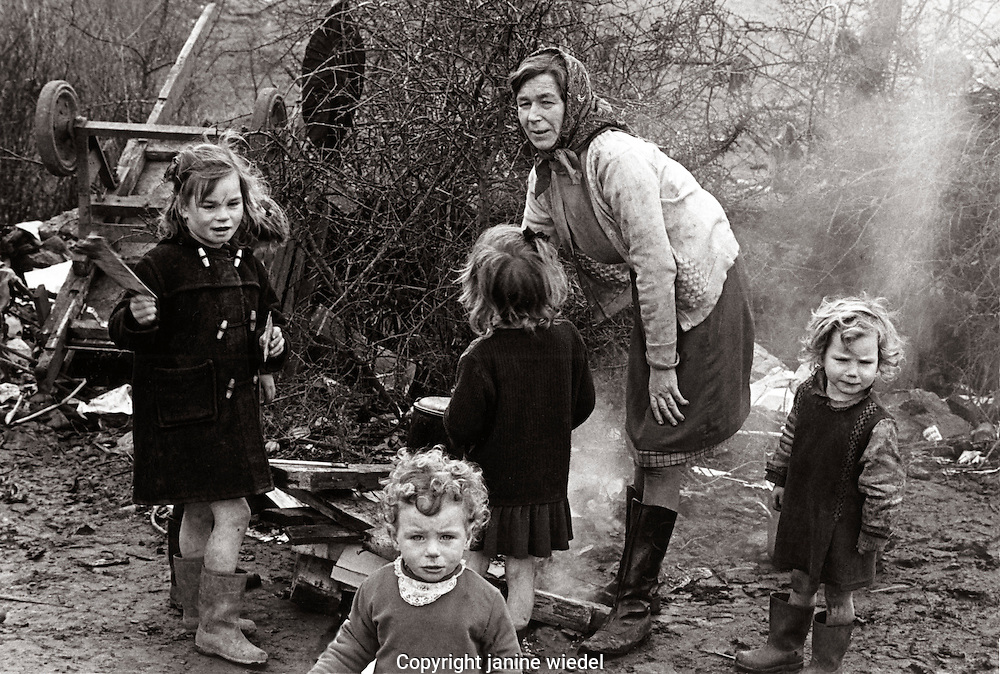 Irish Travellers in Southern Ireland 1970s