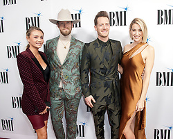 Nov. 13, 2018 - Nashville, Tennessee; USA - Musicians FLORIDA GEORGIA LINE  attends the 66th Annual BMI Country Awards at BMI Building located in Nashville.   Copyright 2018 Jason Moore. (Credit Image: © Jason Moore/ZUMA Wire)