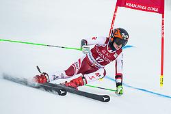 Stephanie Brunner (AUT) during the Ladies' Giant Slalom at 57th Golden Fox event at Audi FIS Ski World Cup 2020/21, on January 16, 2021 in Podkoren, Kranjska Gora, Slovenia. Photo by Vid Ponikvar