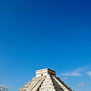 El Castillo (also known as Temple of Kuklcan) at the ancient Mayan ruins at Chichen Itza, Yucatan, Mexico 081216093650_1937x.tif