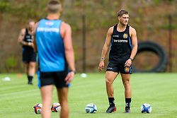 Sam Maunder looks on as Exeter Chiefs take part in stage one training as Premiership Rugby clubs take the first steps towards a return to play in August after the Covid-19 enforced break - Rogan/JMP - 19/06/2020 - RUGBY UNION - Sandy Park - Exeter, England - Gallagher Premiership.