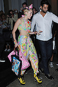 Sept. 10, 2014 - New York City, NY, United States - <br /> <br /> Miley Cyrus leaves a party on Mercer Street in Soho on September 10 2014 in New York City<br /> ©Exclusivepix