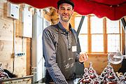 NATIVE PERENNIALS<br /> Showcase: Maypop, Yaupon Holly, Bog Labrador Tea<br /> Seed Grower: Nate Kleinman, Experimental Farm Network Chef: Sandro Paolini, Pinolo Gelato