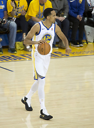 May 31, 2018 - Oakland, California, U.S - Shaun Livingston #34 of the Golden State Warriors during their NBA Championship Game 1 with the Cleveland  Cavaliers at Oracle Arena in Oakland, California on Thursday,  May 31, 2018. (Credit Image: © Prensa Internacional via ZUMA Wire)