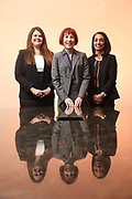 SHOT 12/4/19 11:35:36 AM - McGuane & Hogan, P.C., a Colorado family law firm located in Denver, Co. Includes attorneys Kathleen Ann Hogan, Halleh T. Omidi and Katie P. Ahles. (Photo by Marc Piscotty / © 2019)