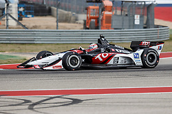 March 23, 2019 - Austin, TX, U.S. - AUSTIN, TX - MARCH 23: Graham Rahal (15) in the TOTAL, Honda powered Dallara IR-18 during Practice 3 at the IndyCar Classic held March 22-24, 2019 at the Circuit of the Americas in Austin, TX. (Photo by Allan Hamilton/Icon Sportswire) (Credit Image: © Allan Hamilton/Icon SMI via ZUMA Press)
